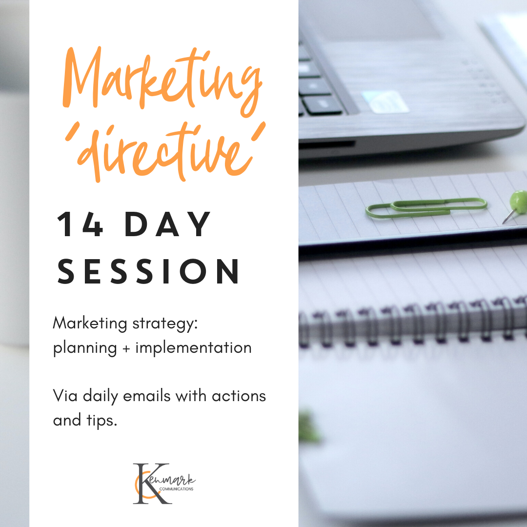 MARKETING DIRECTIVE – 14 Day Email Series